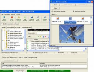 Enlarge News File Grabber Screenshot