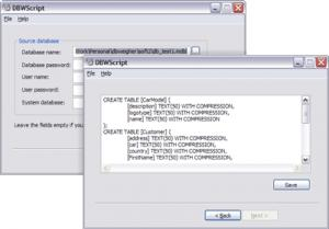 Enlarge DBWScript Screenshot