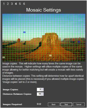 Enlarge Mosaic Wonder Screenshot