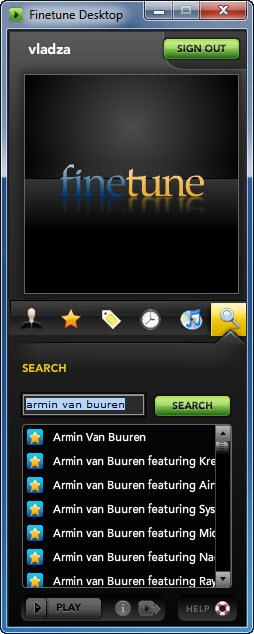 Enlarge Finetune Desktop Screenshot
