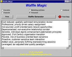 Enlarge Waffle Magic Screenshot