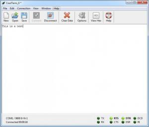 Enlarge CoolTerm Screenshot