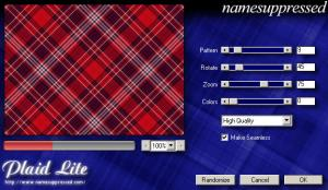 Enlarge Plaid Lite Screenshot