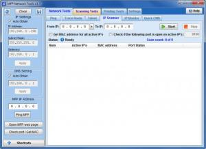 Enlarge MFP Network Tools Screenshot