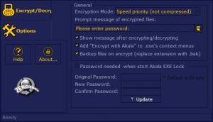 Enlarge Akala EXE Lock Screenshot