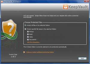 Enlarge KeepVault Screenshot
