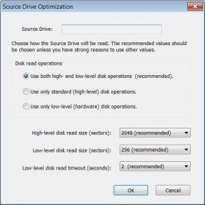 Enlarge Disk Recoup Screenshot