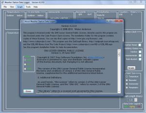 Enlarge Weather Station Data Logger Screenshot