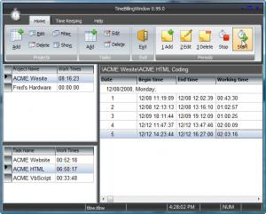 Enlarge TimeBillingWindow Screenshot