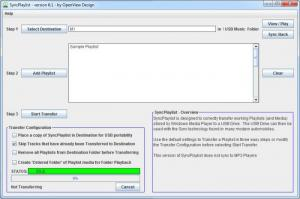 Enlarge SyncPlaylist Screenshot