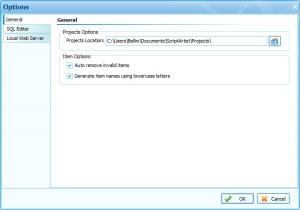 Enlarge ScriptArtist Screenshot