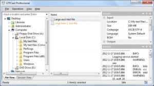 Enlarge UTFCast Screenshot