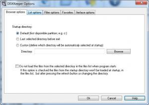 Enlarge DISKKeeper Screenshot