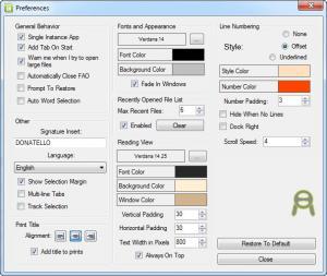 Enlarge Notepad Enhanced Screenshot