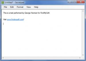 Enlarge SecretPad Screenshot