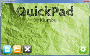 Enlarge QuickPad Screenshot