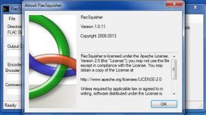 Enlarge FlacSquisher Screenshot