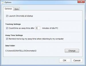 Enlarge Chrometa Screenshot