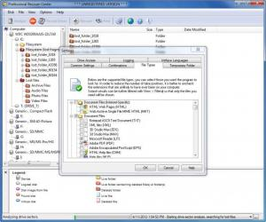 Enlarge Professional Recover-Center Screenshot
