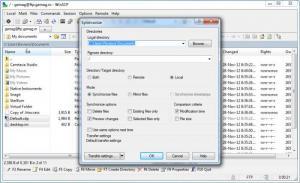 Enlarge WinSCP Screenshot