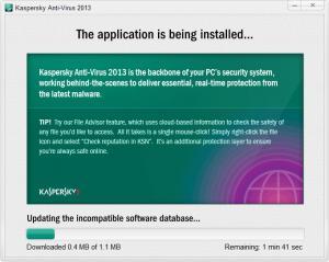 Enlarge Kaspersky Anti-Virus Screenshot
