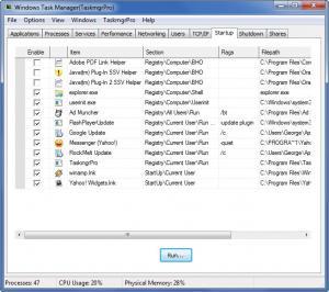 Enlarge TaskmgrPro Screenshot