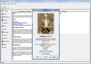 Enlarge Gramps Screenshot