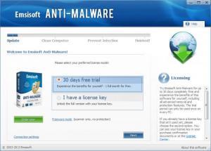 Enlarge Emsisoft Anti-Malware Screenshot