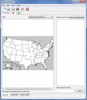 Enlarge OpenTeacher Screenshot