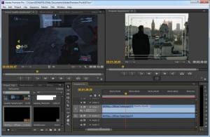 Enlarge Adobe Premiere Screenshot