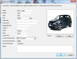 Enlarge iMagic Fleet Maintenance Screenshot