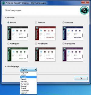 Enlarge NETGATE Registry Cleaner Screenshot
