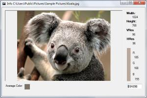 Enlarge Image Tools Screenshot