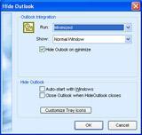 Enlarge HideOutlook Screenshot