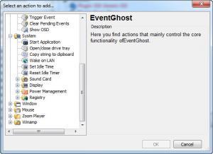 Enlarge EventGhost Screenshot