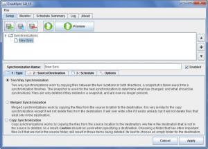 Enlarge CrushSync Screenshot