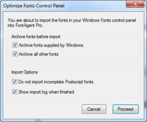 Enlarge FontAgent Pro Screenshot