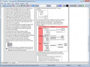 Enlarge TreeSheets Screenshot