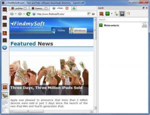 Enlarge LeechCraft Screenshot