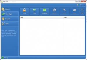 Enlarge File Lock Screenshot