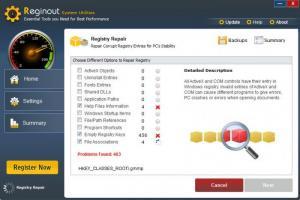 Enlarge RegInOut System Utilities Screenshot