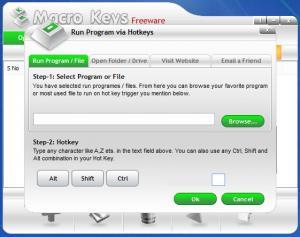 Enlarge Macro Keys Screenshot