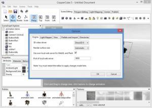 Enlarge CopperCube Screenshot