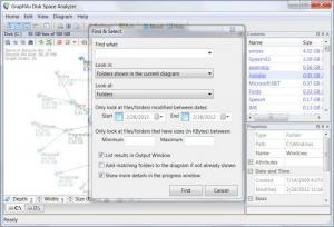 Enlarge Disk Space Analyzer Screenshot