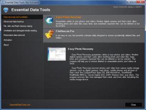 Enlarge Essential Data Tools Screenshot