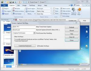 Enlarge HyperSnap Screenshot