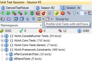 Enlarge dotTrace Screenshot