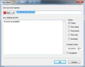 Enlarge ToDo Pilot Screenshot
