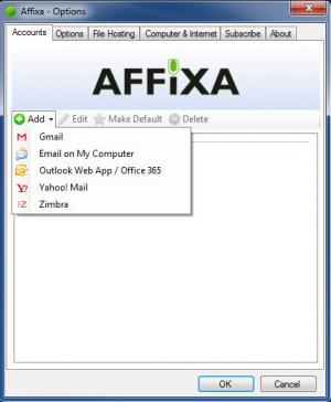Enlarge Affixa Screenshot