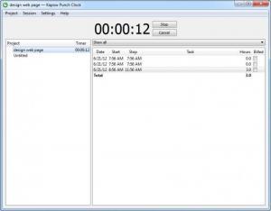 Enlarge Kapow Screenshot